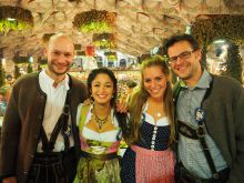 The MunichBREW team at the Octoberfest 2015